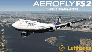 AEROFLY FS 2 FLUGSIMULATOR ✈️ Boeing 747-400 I Und wieder geht es in die Luft