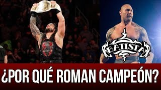 WWE NOTICIAS || ¿Por qué ROMAN REINGS campeón INTERCONTINENTAL? Batista habla se un posible REGRESO