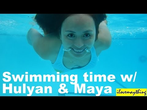 Xxx Mp4 Hulyan Maya Having Fun In The Swimming Pool Summer Family Playtime Activity 3gp Sex