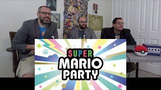 Reaction: Super Mario Party (E3 2018 Nintendo Direct)