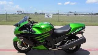 SALE $11,099: 2016 Kawasaki ZX14R Golden Blazed Green Overview and Review