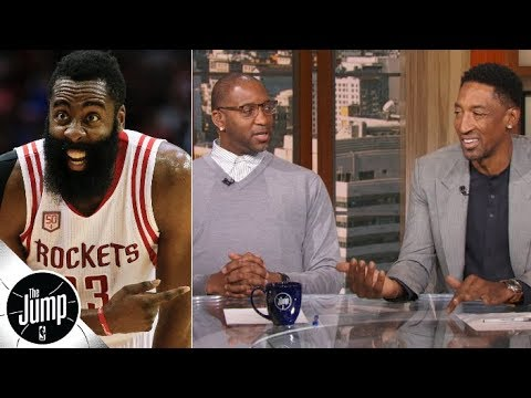James Harden s usage rate leaves Tracy McGrady and Scottie Pippen amazed The Jump