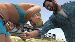 GTA V Michael kills Tracey