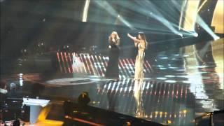 Nicole Scherzinger & Sam Bailey singing 'And I'm Telling You', X Factor Final Part 1, 14/12/2013