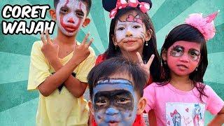 Seru Seruan Face Painting Yuk!! My Little Pony, Hello Kitty, Hai Tayo, & Badut IT Coret Wajah