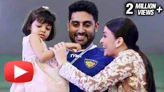 Watch: Aaradhya Bachchan Plays With Aishwarya Rai Bachchan & Abhishek Bachchan