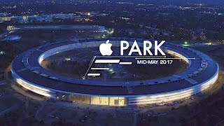 APPLE PARK: Mid-May 2017 -- Sunset Flight