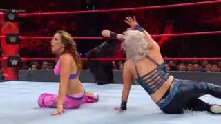 WWE Dana Brook quick in-ring thong