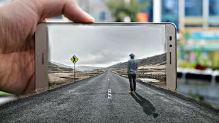 PicsArt New 3d Out road mobile Editing Tutorial ! Road hd photo Manipulation  Editing ! Royal
