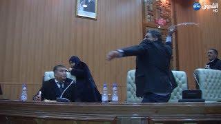 شاهد.. شجار وركل وصدام أثناء انتخاب رئيس المجلس الشعبي الولائي بتبسة