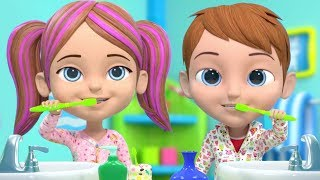 Brush Your Teeth Song | This Is The Way & More Nursery Rhymes For Kids By Little Treehouse