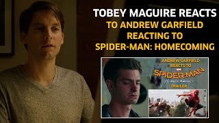 Tobey Maguire reacts to Andrew Garfield reacting to Spider-Man: Homecoming Trailer (Parody)