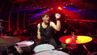 2CELLOS - Whole Lotta Love [Live at Arena di Verona] - DRUM CAM - Dusan Kranjc