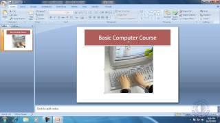 MS Office PowerPoint 2007 Bangla Tutorial 1