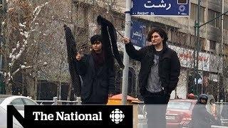 Women protest hijab laws in Iran