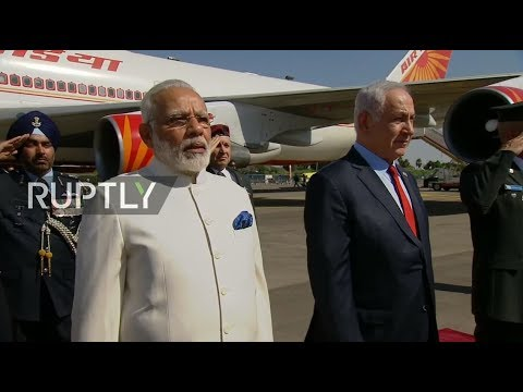 LIVE: Modi lands in Israel as first Indian PM to visit the country
