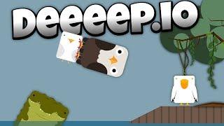 Deeeep.io - The Vicious Bald Eagle Destroys Seagulls! -  - Lets Play Deeeep.io Gameplay - Beta