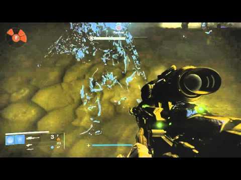 Destiny: Beating Alak-Hul, The Darkblade.  Light 300 Exotic Sword Quest. Bonus Darkblade Helm Drop.