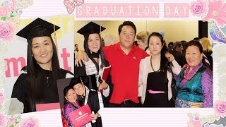 My elder sister's Graduation and mommy in Canada & Germany