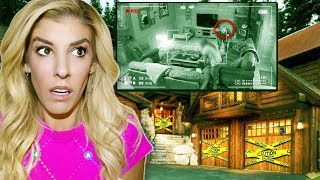 SOMEONE BROKE into OUR HOUSE! (Trapping Game Master in Abandoned Cave finding secret hidden clues)