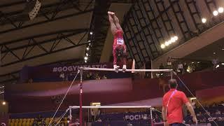 Simone Biles - Uneven Bars - 2018 World Championships - Women's Team Final