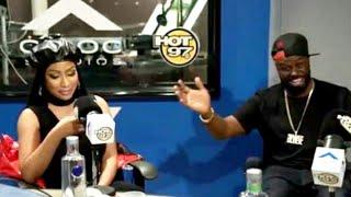Nicki minaj puts safaree on blast and talks about writing her own raps (funk flex hot97)
