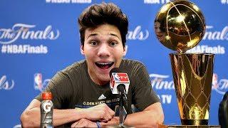 THE NBA FINALS CHAMPIONSHIP! MY CAREER FINALE! NBA 2K18