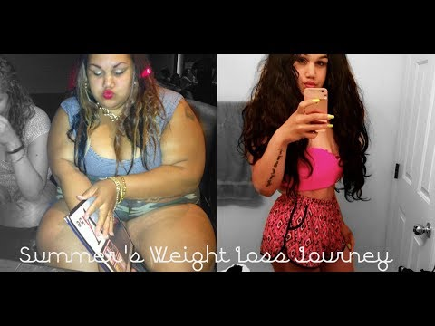 Summer's weight loss Journey l 210lbs gone Naturally