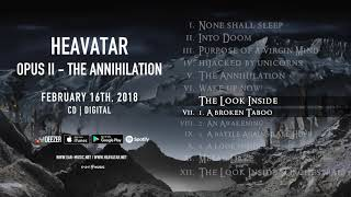 """Heavatar """"Opus II - The Annihilation"""" Official Pre-Listening - Album out February 16th, 2018"""