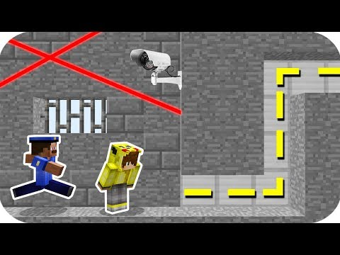 Minecraft EN GÜVENLİ İMKANSIZ HAPİSHANE'DEN KAÇIŞ!