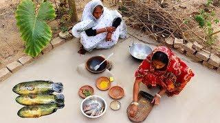 Bangali Style Desi Paka Koi Recipe prepared by Thammi & Kakima | Climbing Perch Fish Recipe