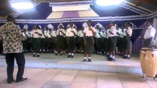 State House Girls High School Choir with Dunia ina Mambo by Lady Issa