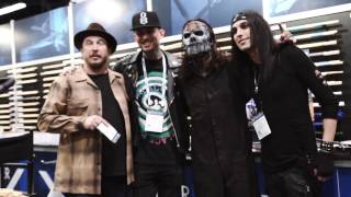 Winter NAMM 2017 - Day 3 - Jay Weinberg Signing