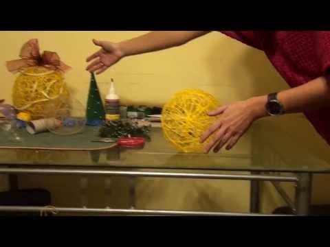 Jak zrobić bombkę jajko ażurowe Ozdoby świąteczne Poradnik Hanki