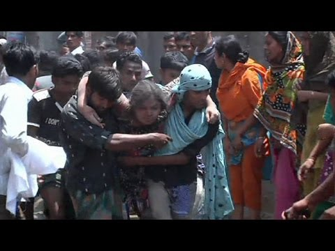 Rescuers search for Bangladesh factory collapse survivors - no comment