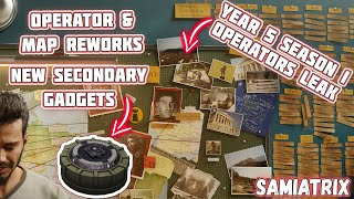 Y5S1 Operator and Loadout LEAKED! Operator & Map REWORK LEAKED (but is it real??)-Rainbow Six Siege