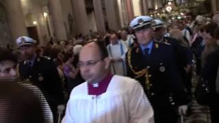 Messina -Processione Madonna della Lettera - filmato 1