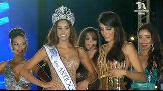 Vanessa Pulgarin es la Nueva Señorita Antioquia 2016