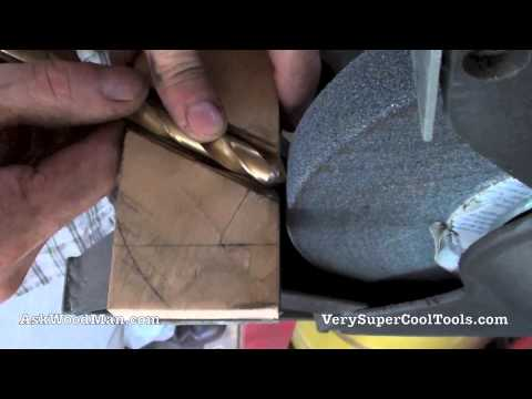 Sharpen Your Own Drill Bits Save Money It s Easy Video 1