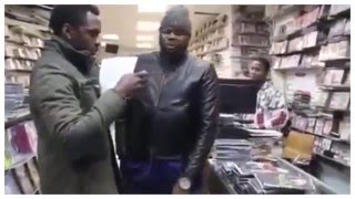 Jamaican Mafia Owners...Raid A Movie Stores, Almost Beats Up Worker, Seize  DVDs and More
