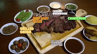 DEMEN MAKAN - Makan Steak Jumbo Dengan Berbagai Macam Saus Di Meat Compiler (19/8/18) Part 1