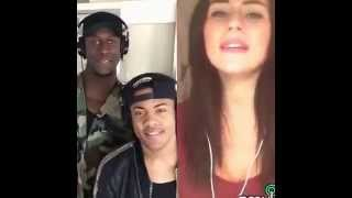 Am I wrong smule duet with Nico and Vinz by Esra