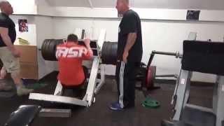 Training Legs with Dorian Yates. Part 2 Quads
