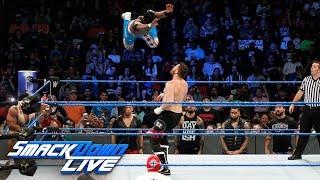 The New Day vs. Kevin Owens & Sami Zayn - Lumberjack Match: SmackDown LIVE, Nov. 21, 2017