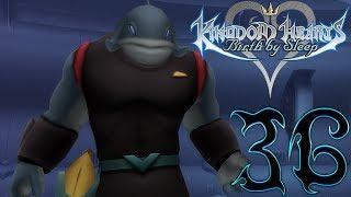 Let's Play Kingdom Hearts Birth By Sleep Walkthrough Gameplay Part 36 Aqua Deep Space