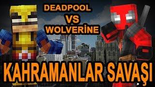 Minecraft Kahramanlar Savaşı #2: Deadpool vs Wolverine / w Han Kanal