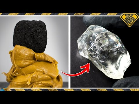 Turning Coal into Diamonds using Peanut Butter