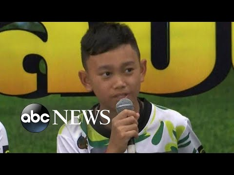Rescued boys coach say they never gave up hope of being found in Thailand cave