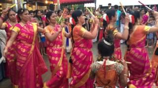 SV Temple NC Bramhotsavam Kolatam Dance 2016