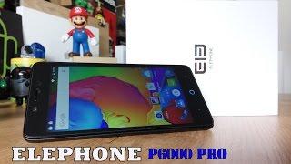 Elephone P6000 Pro, unbox y review en español [Y sorteo internacional]